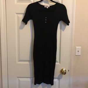 Amour Vert black dress